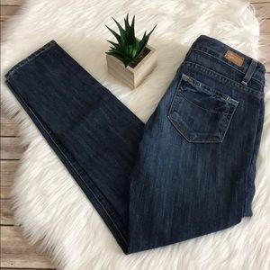 PAIGE Jeans - Paige Premium Denim Roxbury Skinny Crop Jean Sz 26